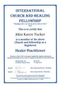 Spiritual Healing diploma